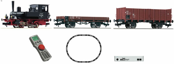 Fleischmann 631881 - z21®start Digital starter set: steam locomotive class 98.75 and freight train, DB