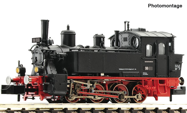 Fleischmann 709904 - German Steam locomotive class 98.8 of the DB