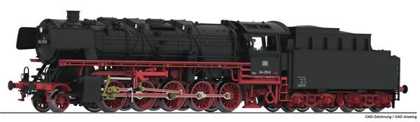 Fleischmann 714401 - German Steam Locomotive Class 044 with coal tender of the DB
