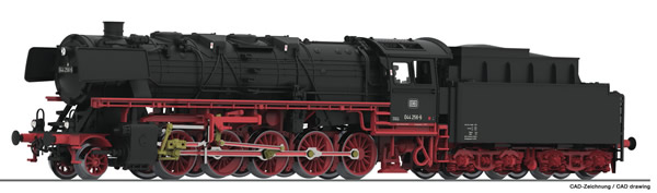 Fleischmann 714471 - German Steam Locomotive Class 044 with coal tender of the DB (Sound)