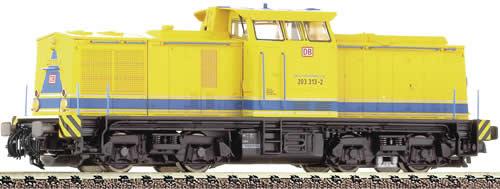 Fleischmann 721003 - Diesel locomotive BR 203, yellow, DBAG