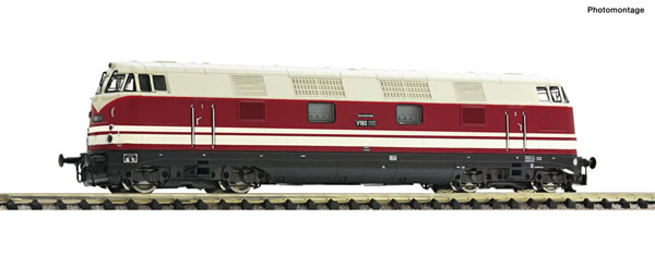 Fleischmann 721403 - German Diese Locomotive class V 180 of the DR
