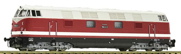 Fleischmann 721471 - German Diesel locomotive class 118 of the DR (Sound)