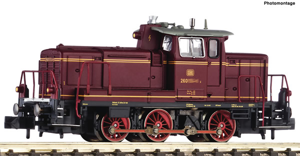 Fleischmann 722401 - German Diesel locomotive class 260 of the DB
