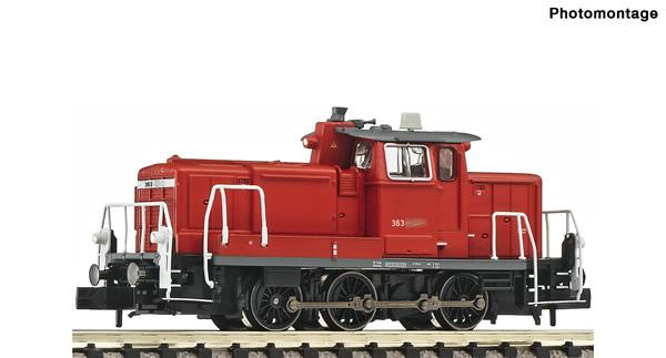 Fleischmann 722402 - German Diesel locomotive class 363 of the DB AG