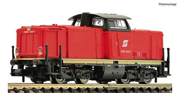 Fleischmann 722807 - Austrian Diesel locomotive class 2048 of the OBB