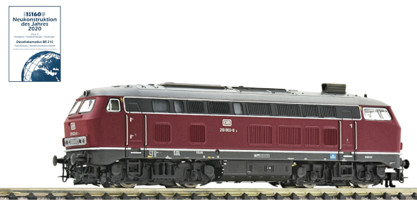 Fleischmann 724210 - German Diesel locomotive class 210 of the DB