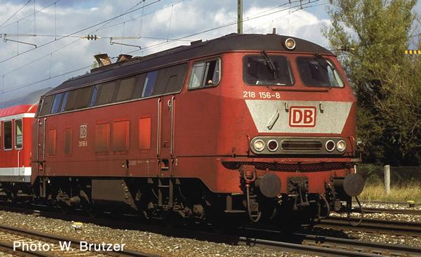 Fleischmann 724220 - German Diesel Locomotive Class 218 of the DB-AG