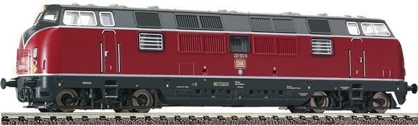 Fleischmann 725009 - German Diesel Locomotive Class 221 of the DB
