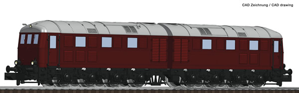 Fleischmann 725100 - German Diesel Electric Double Locomotive D 311 of the DB