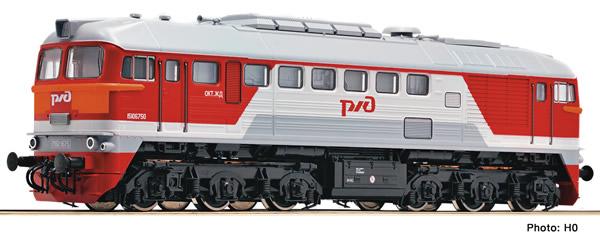 Fleischmann 725290 - Russian Diesel locomotive M62 of the RZD (Sound)