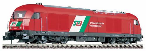 Fleischmann 726004 - Diesel loco of the STLB (Steiermärkische Landesbahnen), class 2016