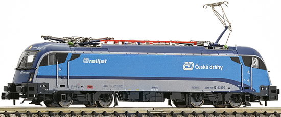Fleischmann 731217 - Czech Electric Locomotive 1216 050 Railjet of the CD