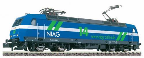 Fleischmann 732302 - Electric loco of the NIAG (Niederrheinische Verkehrsbetriebe AG), class 481