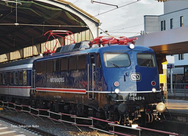 Fleischmann 733605 - German Electric Locomotive 110 469-4 NX Rail