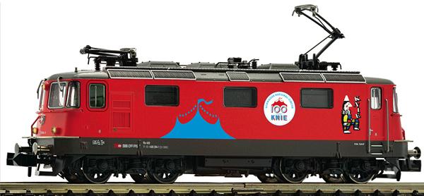 Fleischmann 734014 - Swiss Electric locomotive 420   294-1 Circus Knie of the SBB