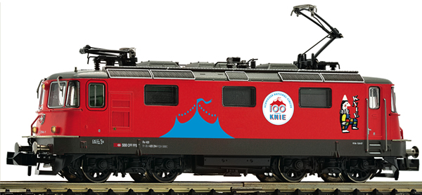 Fleischmann 734014 - Swiss Electric locomotive 420   294-1 Circus Knie of the SBB