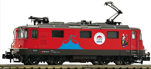 Fleischmann 734094 - Swiss Electric locomotive 420   294-1 Circus Knie of the SBB