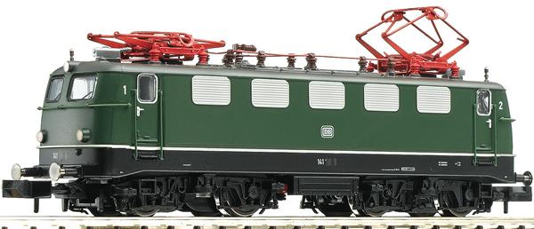 Fleischmann 734174 - German Electric locomotive class 141 of the DB (Sound)