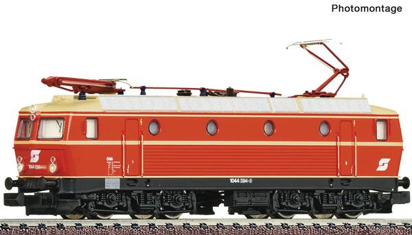Fleischmann 736677 - Austria Electric locomotive class 1044 of the OBB (Sound)