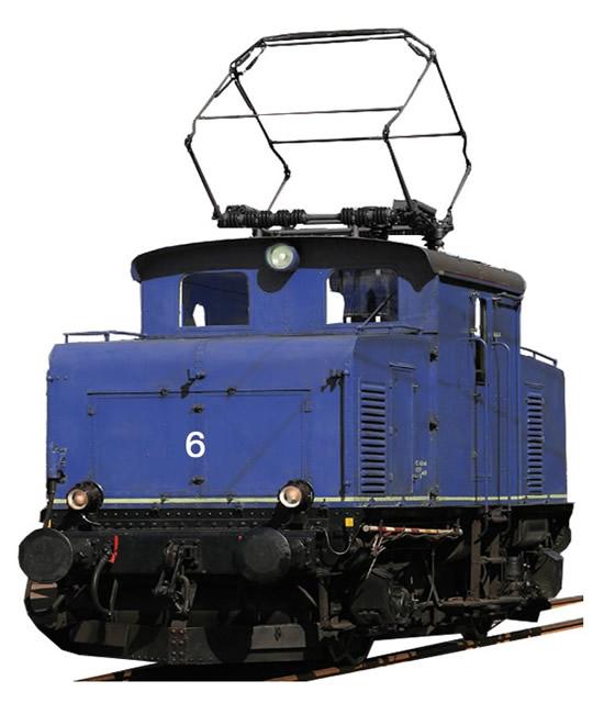 Fleischmann 737104 - German Electric Locomotive Edelweiss