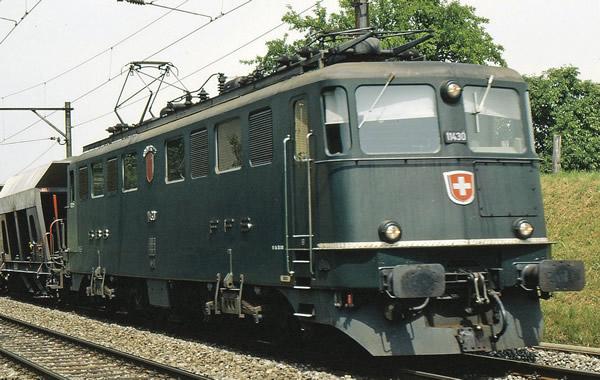 """Fleischmann 737214 - Swiss Electric Locomotive Ae 6/6 """"Städtelok"""" of the SBB"""