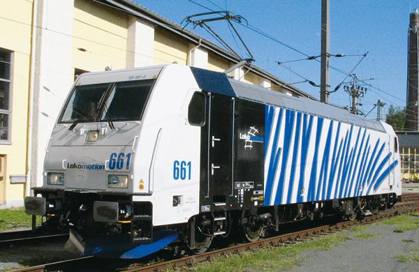 Fleischmann 738873 - German Electric Locomotive BR 185.2 Locomotion blue (Sound)