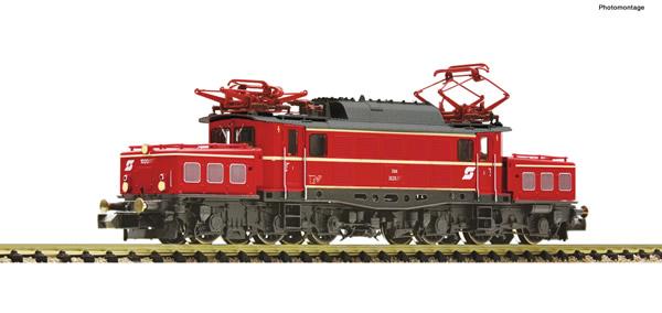 Fleischmann 739490 - Austrian Electric locomotive class 1020 016-0 of the OBB (Sound)