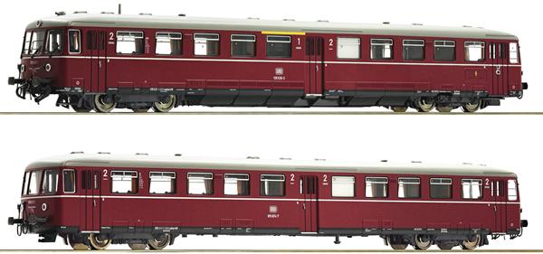 Fleischmann 740170 - German Accu railcar class 515 an control cab coach of the DB (Sound)