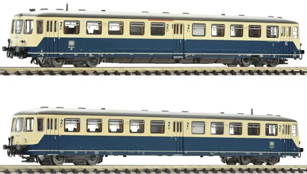 Fleischmann 740171 - German Accumulator rail car class 515 with control cab coach of the DB (Sound)