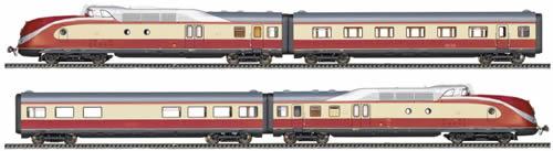 Fleischmann 741001 - 4-piece Diesel Multi-unit VT 11.5