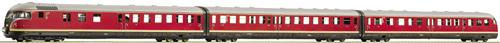 Fleischmann 741271 - Three-part diesel train VT BR 12.5 of the DB DCC