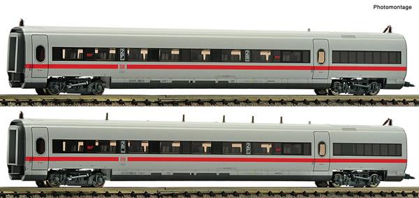 Fleischmann 746402 - 2 piece set: Matching coaches for the EMU ICE class 411