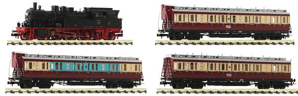 Fleischmann 781209 - German 4 piece set: Fast traffic Ruhr of the DRG