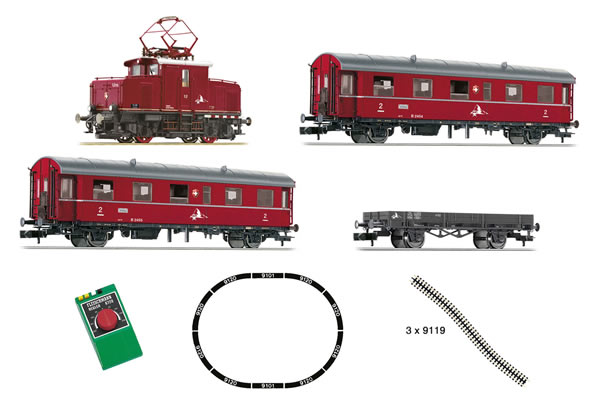 Fleischmann 781701 - German Rack & Pinion Starter Set (analog)