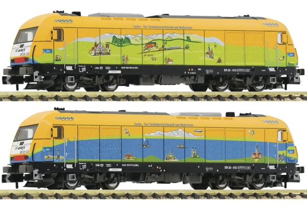 Fleischmann 781971 - Diesel locomotive class 223, alex (Sound)