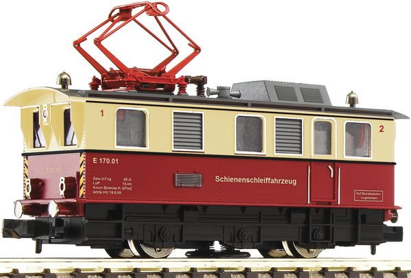 "Fleischmann 796804 - German Electric Locomotive ""Rail grinder loco"""
