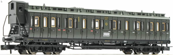 Fleischmann 804204 - 1st/2nd class compartment car type BC pr04, DRG