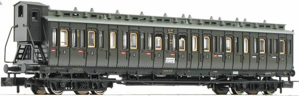 Fleischmann 804305 - 3rd class compartment car type Ctyf of the DRG