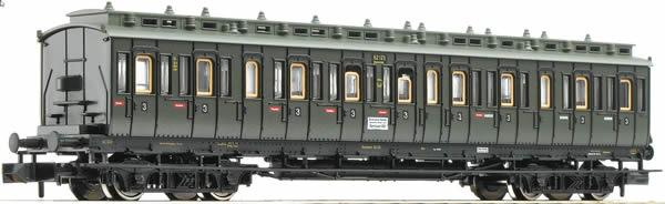 Fleischmann 804402 - 3rd class compartment car type Ctyf of the DRG