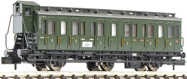 Fleischmann 806501 - 3-axled 1st/2nd class compartment coach with brakeman's cab, type BC3 pr03 DB