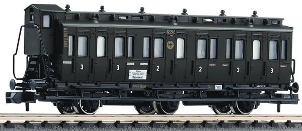 Fleischmann 806504 - 3-axled 2nd/3rd class compartment coach with brakeman's cab, type BC3 pr03 DRG