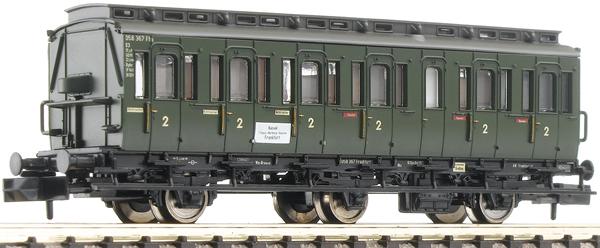 Fleischmann 807002 - 3-axled 2nd class compartment coach, type C3 pr11 DB