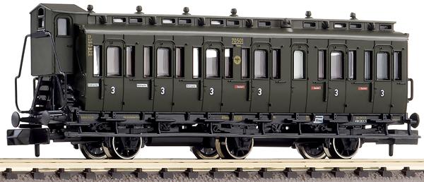 Fleischmann 807005 - 3-axled 3rd class compartment coach with brakeman's cab, type C3 pr11 DRG