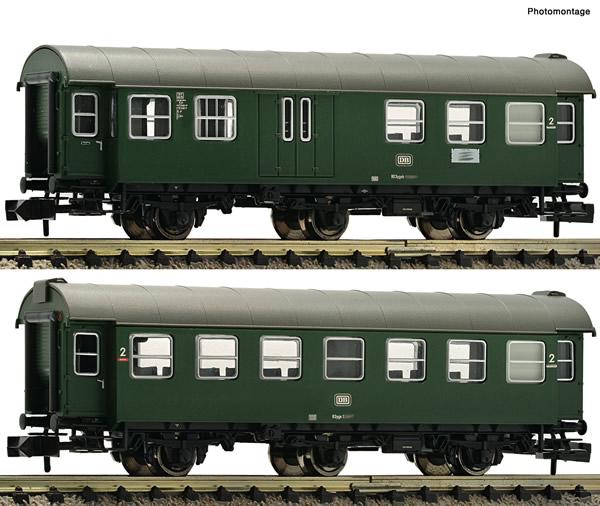 Fleischmann 809908 - 2 Piece Set Conversion Coaches