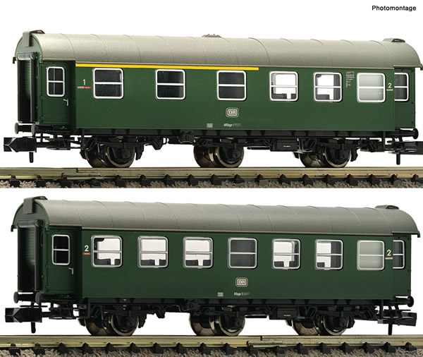 Fleischmann 809909 - 2 piece set conversion coaches