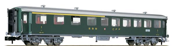 Fleischmann 813803 - Swiss Passenger Car 1/2.Class Type AB of the SBB