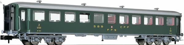 Fleischmann 813906 - Swiss Passenger Car 2.Class Type B of the SBB