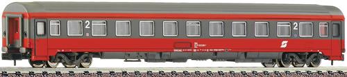 Fleischmann 814466 - Austrian 2nd Class Eurofima Coach of the OBB