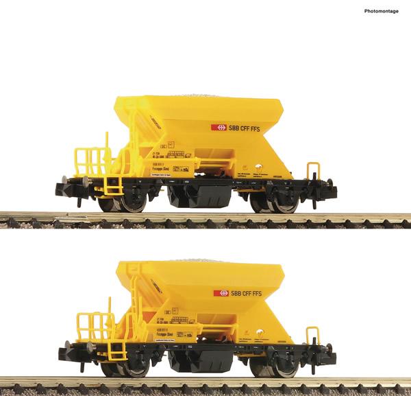 Fleischmann 822920 - 2 piece set ballast wagons